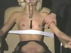 blonde, extreme, rough, gagging, sadistic, babe, domination, skinny, master, bdsm, humiliation, chained, fetish, clamps, torture, bondage, tied