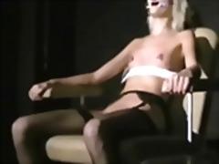 Blonde bondage babe wynter tortured and humiliated by her sadistic master