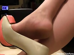 Alisa high heels dangl... video