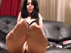 fetish, smoking, raven, europeans, mature, foot, euro, feet, stockings, nylons, mom