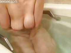 japanese, solo, masturbation, bathroom,