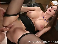 milf, rubbing, wicked.com, office
