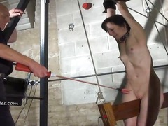 Ah-Me Movie:Extreme electro bdsm and woode...
