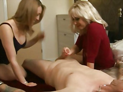 Cfnm femdoms play with... preview
