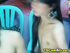Asian tranny sucking a... - Ah-Me