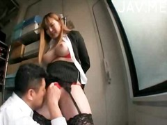 Nasty asian babe gets ... video