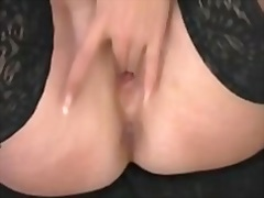 showing, dripping, pussy, mature