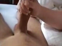 milf, magic, cock, hand
