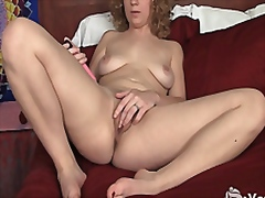 Vporn - Blonde Ruby Toy Her Pussy