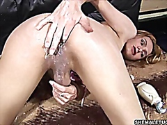 See: Solo shemale lotion tug
