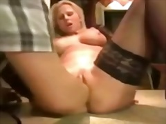 wife, hubby, milf, enjoy, gets, big