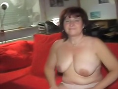 mature, loves, dildo, hard