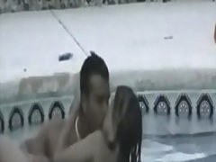 Teen Couple Pool Fuck