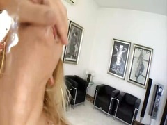 Blonde bitch slut with... video