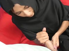 Redtube Movie:Muslim handjob
