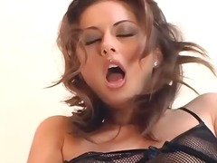 Ah-Me Movie:Fingering in thigh high stocki...