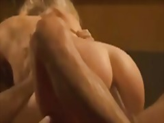 Blonde intimate anal a... video