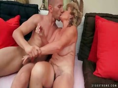 Naughty old bitch gets... video