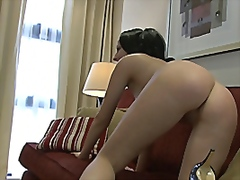 Horny European Gets Su...