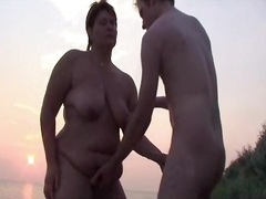 beach sex cuckold video