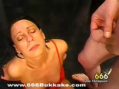 Thumb: Wet blowjob with titty...