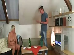 His wife comes in and sees him fuckin...