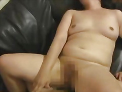 Mature gets a creampie...