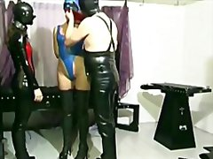 Latex fetish coup...