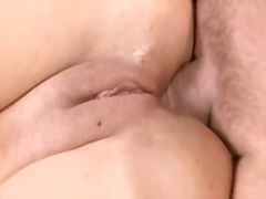 Bbw Milf Enjoys A Toug...