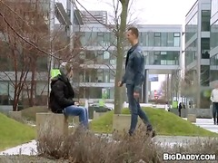 guy, public, pickup, video, horny, outdoors, homosexual, campus, boy, university, penis, exhibitionist