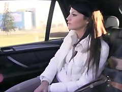 Hot penelope rides tax... video