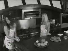 See: Housewives in aprons h...