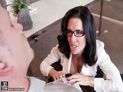 kissing, milf, veronica avluv
