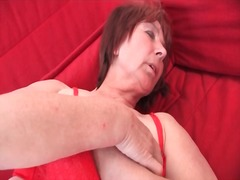 Alpha Porno Movie:Sexy solo grandma masturbates ...