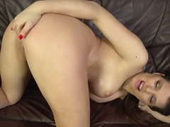 PornerBros - Mona lee squirting orgasm