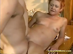 Older babe gets hard f...