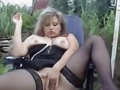 wife, masturbation, playing, mature,