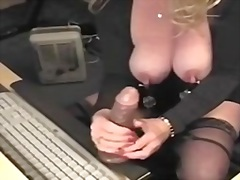 dildo, more, clit, huge, cunt, using