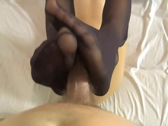 Private Home Clips Movie:Black Nails Stockings Footjob ...