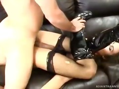 Sexy tranny always get... video