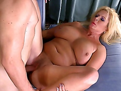 Busty mom takes it in ... video
