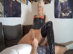 Private Home Clips Movie:Dressed in her leather is what...