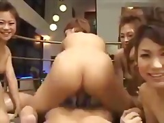 Japanese 6 girls 1 luc... video