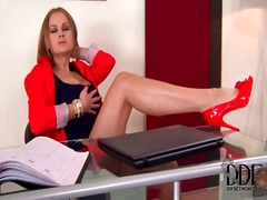 Secretary abbie cat ma... video