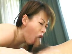 Lustful asian babe moa...