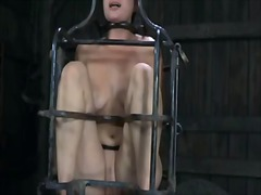Gagged beauty made to submit - 05:07
