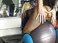 Holly Halston - BigWetButts - Ass Aerobics 101