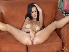 Katsuni playing with toy video