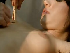 Updatetube - Brunette bijou finds d...