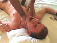 Alpha Porno Movie:Bound bottom boy fucked and ta...
